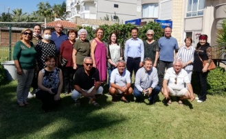 Alanya CHP'den anlamlı ziyaret
