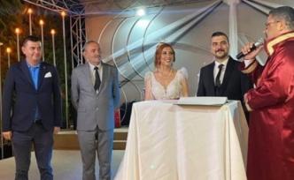 Alanya'da ülkücüler bu düğünde buluştu