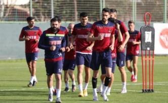 Alanyaspor Fenerbahçe maçı hazırlıklarını sürdürdü