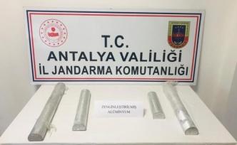 Jandarmadan zenginleştirilmiş saf alüminyum operasyonu