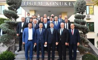 Alanya Toptancı Hali'nin sorunları Ankara'da