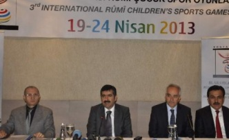 Konya'da 3. Uluslararası Rumi Çocuk Spor Oyunları Başlıyor