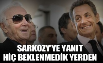 Sarkozy'ye cevap