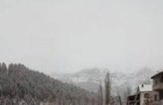 Alanya yaylalarından kar manzaraları