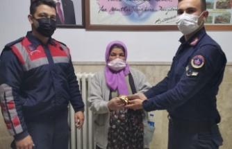 Güvenlik görevlisi yalanıyla altın ve para dolandırıcılığı jandarmaya takıldı
