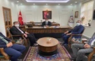 MHP'den Kaymakam Ürkmezer'e ziyaret