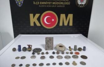 Amerikalı tarihi eser kaçakçısı Alanya'da yakalandı