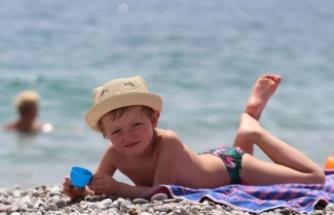 Antalya'da termometreler 35'i gördü
