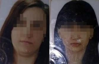 Evde ölü bulunan anne ile kızının cenazesi gözyaşlarıyla morgdan alındı