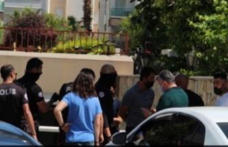 Lüks rezidanstaki pandemi kuralı ihlaline polis baskını