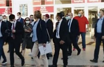 Rus heyet Antalya'da programın dışına çıktı
