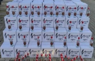 Alanya'da otel deposunda bin 800 litre kaçak içki ele geçirildi