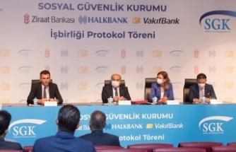 SGK ile bankalar arasında yapılan anlaşmayla emekli olmak isteyenlere kredi imkanı getiriliyor