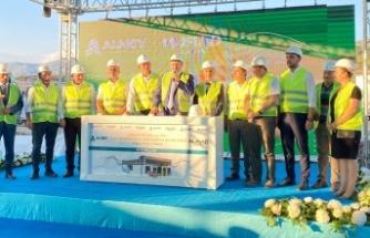 Türkiye'de ilk tesisin temeli Alanya'da atıldı