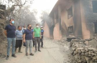 Yangın Alanya'nın o mahallesini yok etti