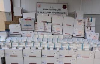 3 milyon 300 bin liralık kaçak ilaç operasyonu