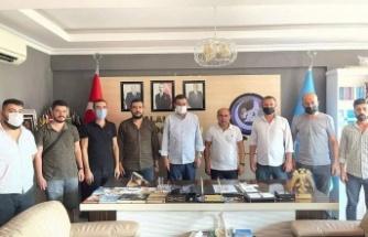 Türkdoğan'dan Alanya Ülkü Ocakları'na ziyaret