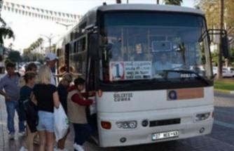 Alanya'da halk otobüs saatlerine kış güncellemesi