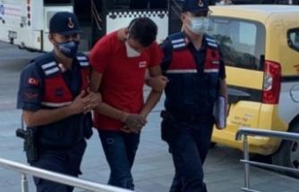 Alanya'da turistin telefonunu gasp eden şüpheli yakalandı