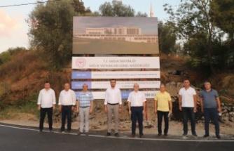 Alanya'nın yeni hastanesi arazisinde incelemeler tamamlandı