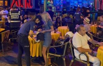 Alanya polisinden gece operasyonu