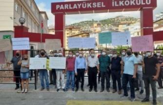 Alanya'daki eğitim sendikalarından ortak kınama