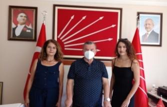 Konaklı mahallesinden CHP'ye 15 yeni üye kaydı