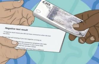 Turistlere Türkiye'den dönüşte 25 Euro'ya sahte PCR testi