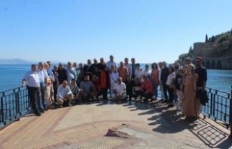 Akdenizli gazeteciler Alanya'da buluştu