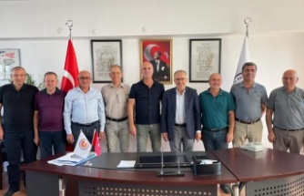 Başkan Bahar'dan Akdeniz Sanayi Sitesi'ne ziyaret