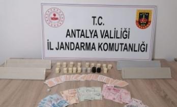 Antalya'da kumar operasyonu: 7 kişiye 37 bin 702 TL ceza