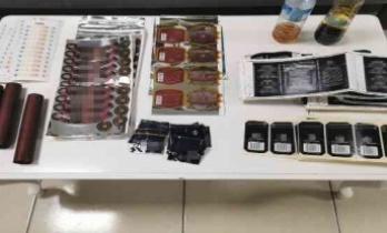 Kontrol noktasında durdurulan araçlardan kaçak alkol bandrolleri çıktı