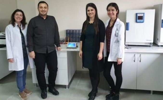 ALKÜ'de tıbbi cihaz prototipi üretildi