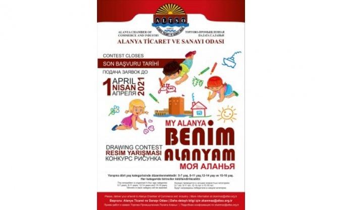 ALTSO'dan 'Alanya' konulu Resim yarışması