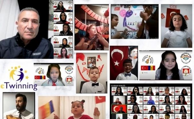 Alanya'da öğrenciler şenliği birlikte kutladı