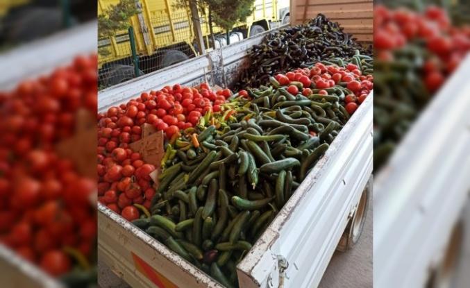 Alanya'da üretici tarım ürünlerini çöpe döktü