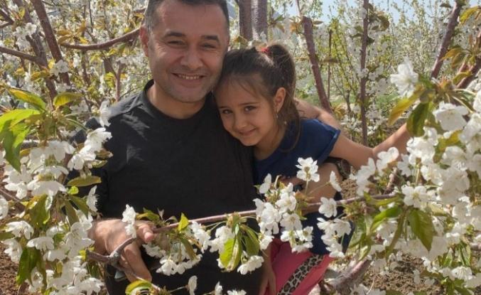 Yücel'in kızı Zeynep'le yayla keyfi