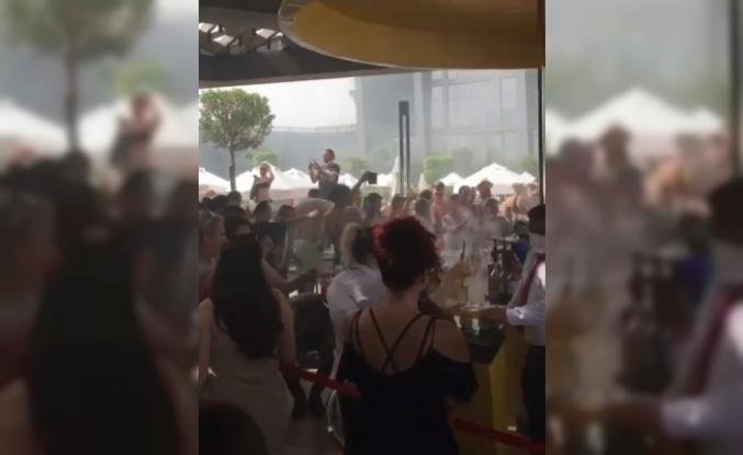 Yüzlerce kişinin mesafesiz partisi, 'Güvenli Turizm Sertifikası'ndan etti