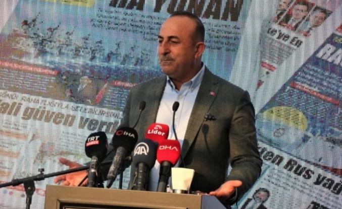 Bakan Çavuşoğlu'ndan Antalya'da önemli açıklamalar