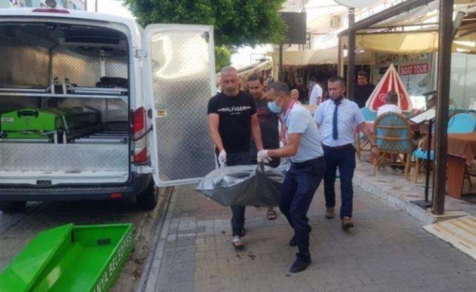 Alanya'da klima motoruna asılı ceset bulundu