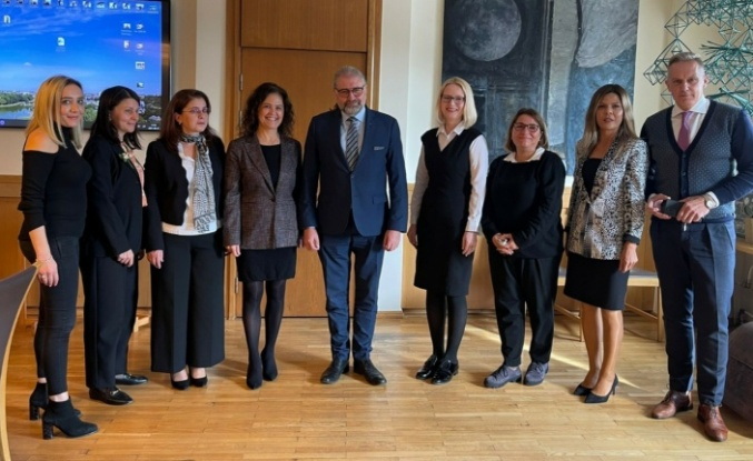 Alanyalı girişimci kadınlar Litvanya'da