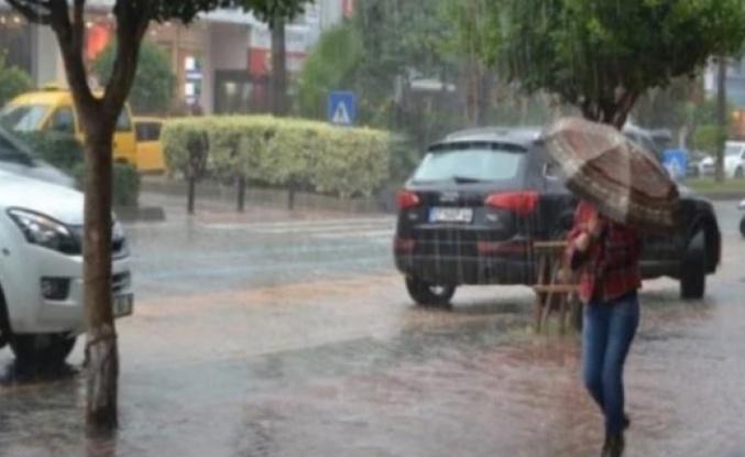 Alanya'ya sağanak yağış uyarısı