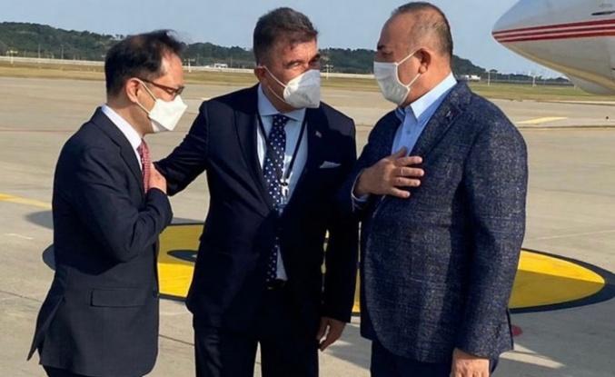 Bakan Çavuşoğlu Güney Kore'de