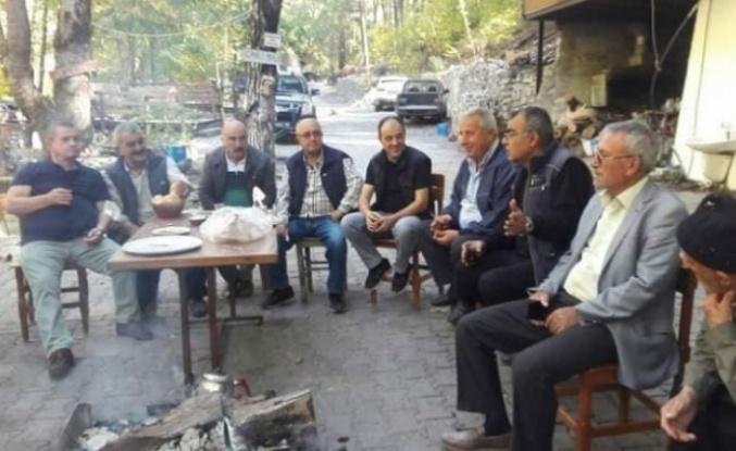 Başkan Karadağ, Taşatan mevkiinde incelemelerde bulundu