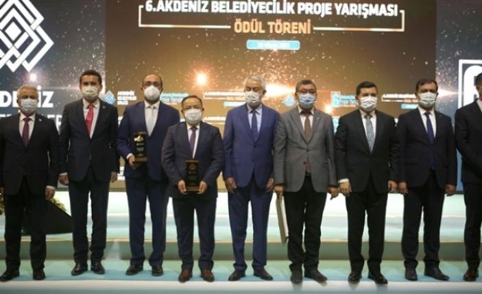 Antalya Büyükşehir Belediyesi'nin üç projesi ödül aldı