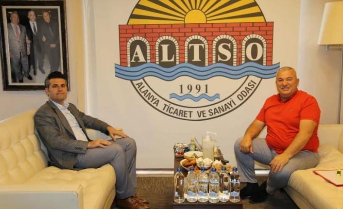 Alanya Cezaevi Müdürü'nden Başkan Şahin'e ziyaret