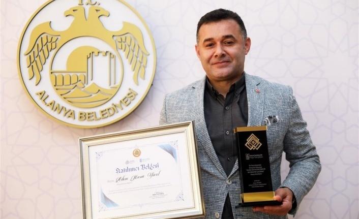 Alanya Belediyesi'nin 'Mutfak Kültür Evi Projesi'ne ödül