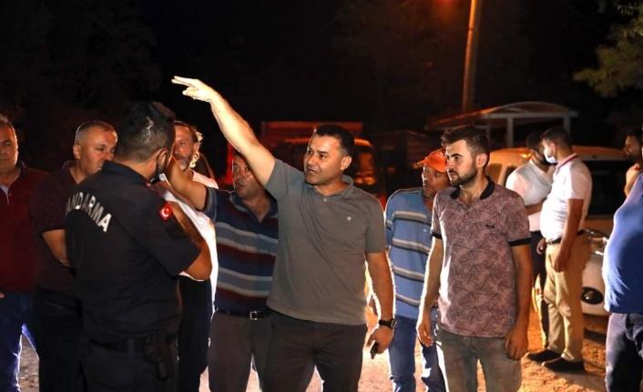 Alanya'da 3 yerleşim yeri yangın riskine karşı tahliye edildi