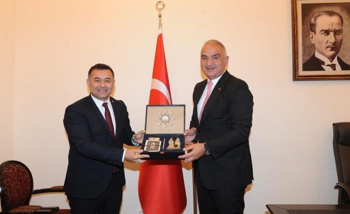 Başkan Yücel'den yoğun Ankara mesaisi