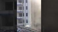 3 yıldızlı otelde korkutan yangın!